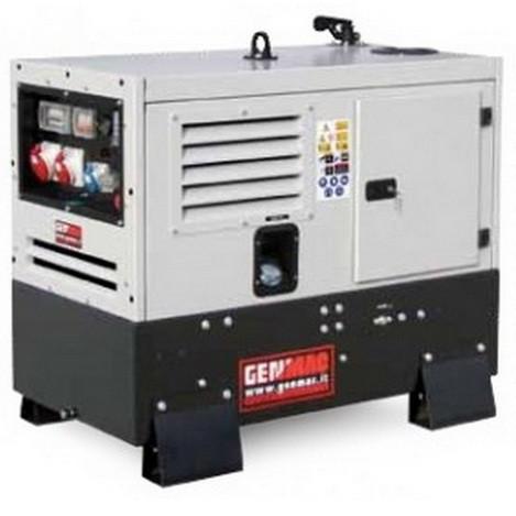 Трехфазный дизельный генератор GENMAC Urban G17000LSM (17 кВа)