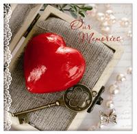 Альбом UFO 10sheet S22x32 Key&heart