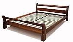 """Двуспальная кровать """"Вояж """" Орех деревянная"""