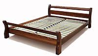 """Двуспальная кровать """"Ретро"""" Орех деревянная, фото 1"""