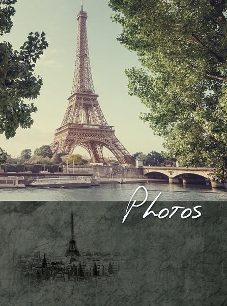 Альбом UFO 10x15x300 C-46300 Paris