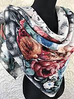 """Платок женский """"Яркая роза"""""""