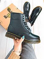 """Зимние ботинки Dr.Martens """"Black""""  ( в стиле Мартинс )"""