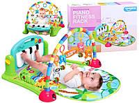 Розвиваючий килимок з піаніно для немовлят