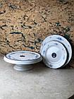 Тарілка маленька біла керамічна Dekore UA, фото 2