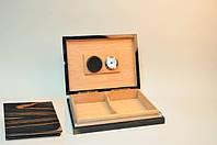 Лакированный бокс для сигар (Хьюмидор) на 20 шт с увлажнителем
