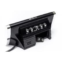 Часы сетевые VST 730-1 красные, фото 3