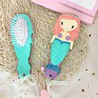 Набор детских аксессуаров заколки и расческа для девочек младшего возраста Русалочка, фото 4