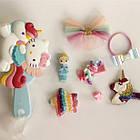 Набор детских аксессуаров заколки и расческа для девочек младшего возраста Хелоу Китти, фото 4