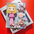Набор детских аксессуаров заколки и расческа для девочек младшего возраста Принцесса, фото 6