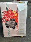 Комплект постельного белья двуспальный Евро Rose Сатин Фабричная Турция, фото 2