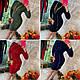 Тепле трикотажна сукня на блискавці, фото 6