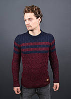 Мужской теплый свитер 7004