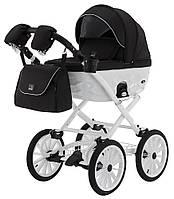 Детская классическая коляска 2 в 1 Adamex Chantal Retro C6