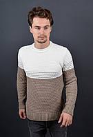 Мужской теплый свитер 7006