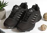 0366 Кроссовки BONA из натуральной кожи.Черные. 37 размер - стелька 23,5 см, фото 2