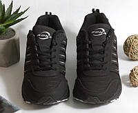0366 Кроссовки BONA из натуральной кожи.Черные. 37 размер - стелька 23,5 см, фото 1