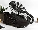 0366 Кроссовки BONA из натуральной кожи.Черные. 37 размер - стелька 23,5 см, фото 5