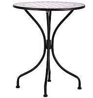 Стол для веранды Ажен hy-mft702 сталь черн. 95169/мозаика, TM AMF