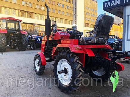 Мототрактор - FORTE МТ-161LT LUX Красный, фото 2