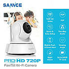 Поворотная Wi-Fi ip-камера SANNCE 720 Оригинал 100%, фото 2