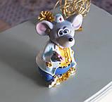 Копилка мышка врач 10*15*9 см Гранд Презент 026 A 030C, фото 6