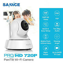 Поворотная Wi-Fi ip-камера SANNCE 720 Оригинал 100%