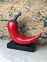 Настольная Фигурка Статуэтка Красный Перец Декор для дома, офиса, квартиры на подарок