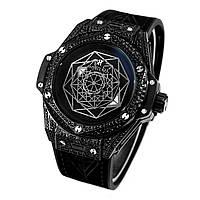Часы наручные (в стиле) Hublot Big Bang Sang Bleu черные