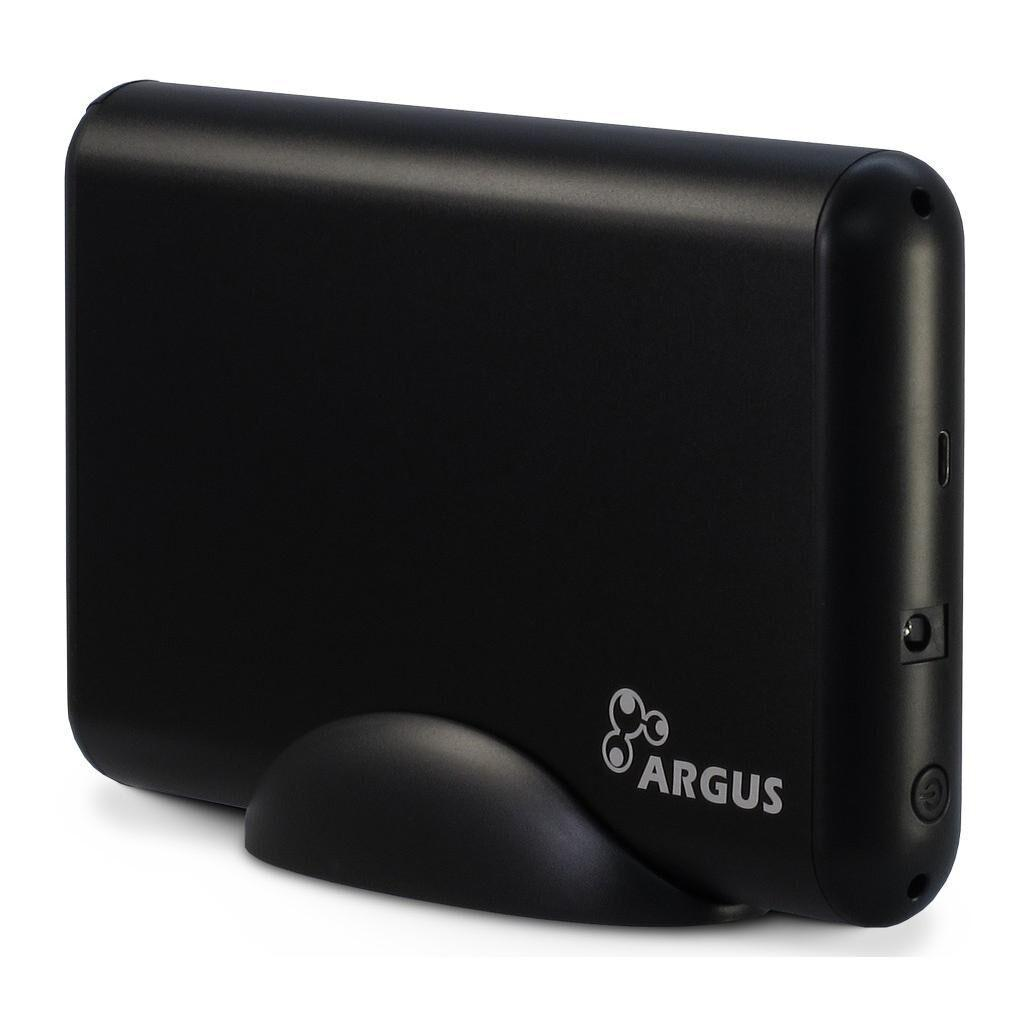Карман внешний Argus 3.5' SATA III, max 16TB ,USB Type C Al (GD-35613-S3)