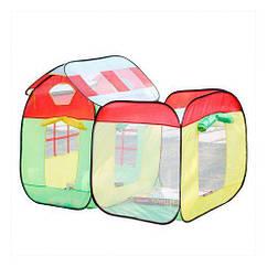 Детская палатка игровая с 50 разноцветными шариками M3708 006760, КОД: 949927
