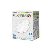 Гигиенические прокладки для умеренных выделений с крылышками, в индивидуальной упаковке Glossary
