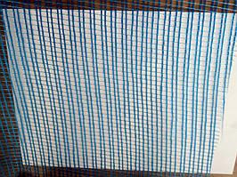 Сетка стеклотканевая фасадная 145г/м2 Синяя  (45м)