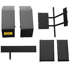 Комплект для переоборудования мотоблока КИТ набор №4(задний и передний подьемный мех+комплект фрезы,4 шпильки)