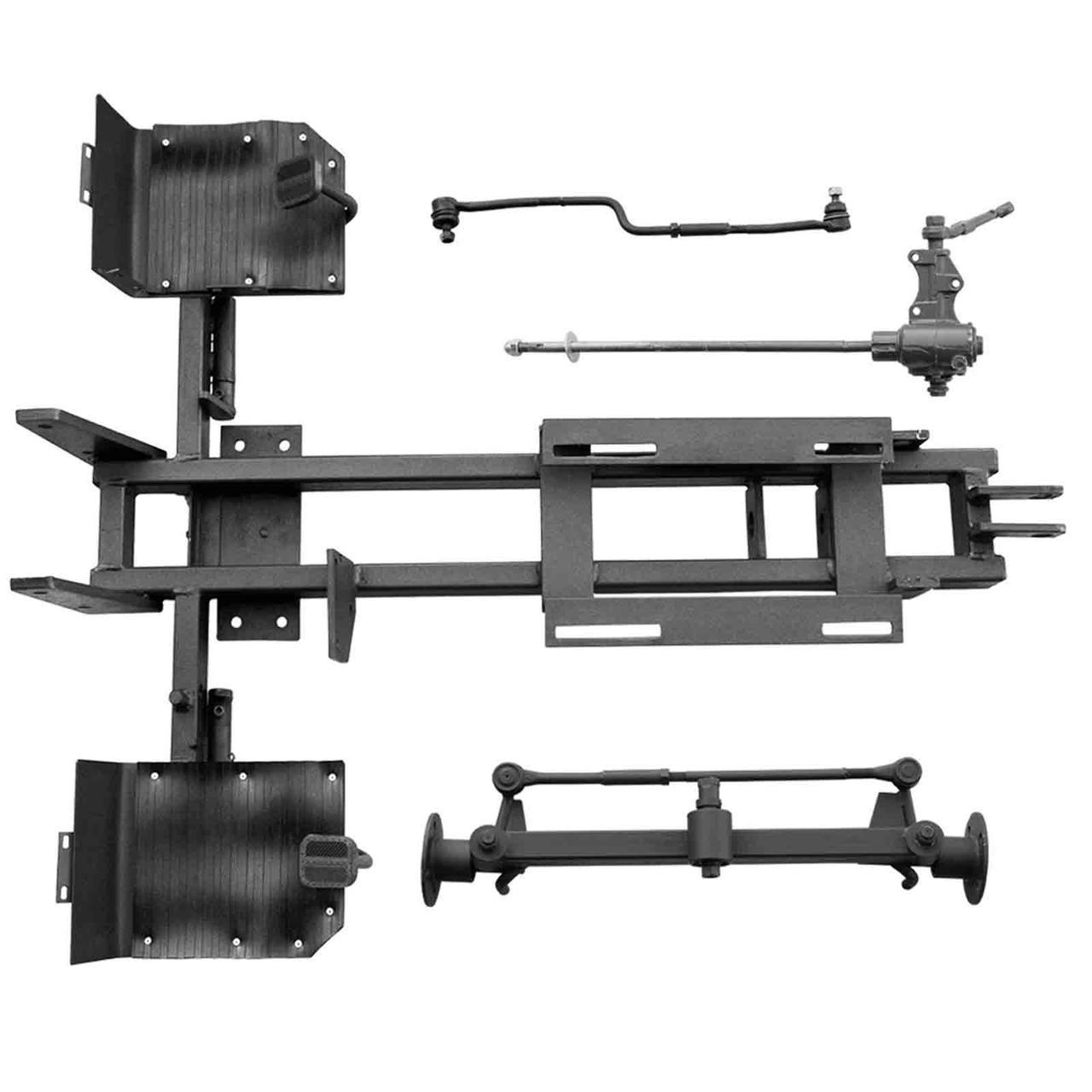Комплект для переоборудования мотоблока КИТ набор №5(к-т под ротор косилку,подьем мех-мы+к-т фрезы,4 шпильки)