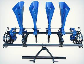 Чеснокосажалка 4х рядная (для минитрактора) (ложки стандарт Ø24,5)