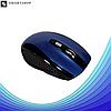 Беспроводная мышка G-109 - компьютерная мышь оптическая Синяя, фото 2