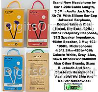 Навушники вакуумні провідні HF SONY XB-70 оригінал (3000000155431)