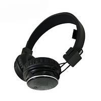 Беспроводные наушники 4 в 1 bluetooth MDR Q8 microSD с радио Black 007393, КОД: 949731
