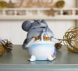 Копилка мышка в ванной 13*11*10 см Гранд Презент 026 A 026A, фото 4