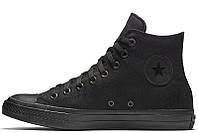 Женские кеды Converse Chuck Taylor All Star II High Mono Black черные р.35 Акция -46%!