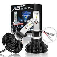 Ксенон LED Лампы LED X3 Philips 50W (H1)