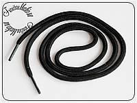 Шнурок толстый черный 200см