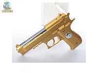Пистолет игрушечный 22см, на пульках