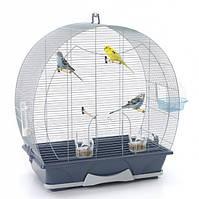 Savic ЭВЕЛИН 50 (Evelyne 50) клетка для птиц , 70Х36Х73 см.  серый