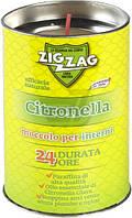 Свеча от комаров Zig Zag Citronella Indoor 200 мл 100 г