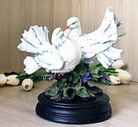 Фигура пара голубей 25 см СП303 цв
