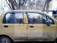 Дефлекторы окон (ветровики) Daewoo matiz (део/деу матиз) (хэтчбек) 1997г+