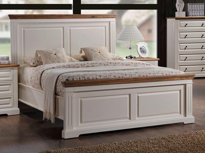 """Кровать (180*200)двуспальная """"Прайм Дабл"""" Комби деревянная, фото 1"""