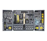 #136460 - Набор инструмента 'Всё для дома' Topex, 135шт (38D215), головка 3/8'' - 9-17 мм, головка 1/4'' - 4-12 мм, ключи рожковые - 8-15 мм,